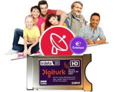 Digitürk Euro Modüllü HD Aile Paketi 12 Aylık | Sat-Eutelsat 7E