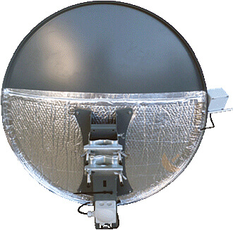 sat antenne mit heizung alu 100cm ariasat eshop. Black Bedroom Furniture Sets. Home Design Ideas