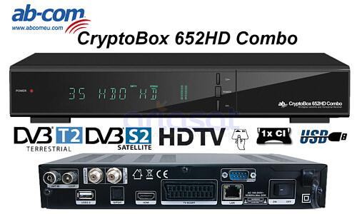ab com cryptobox 652hd combo dvb s2 t2 uydu ve dvb t2 al c s ariasat eshop yetkili. Black Bedroom Furniture Sets. Home Design Ideas