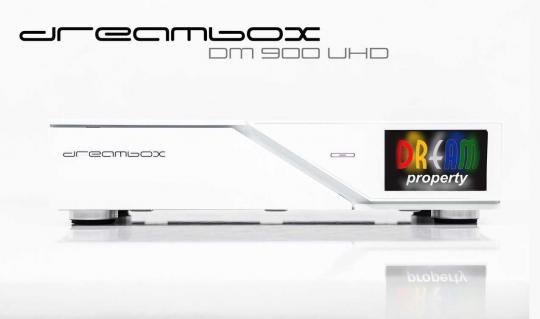 dreambox dm900 ultrahd 4k sat receiver weiss uhd. Black Bedroom Furniture Sets. Home Design Ideas