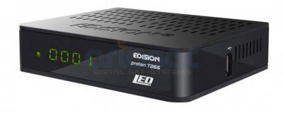 Kabelreceiver Edision Proton DVB-C/DVB-T2 (H.265) Full HD, FTA