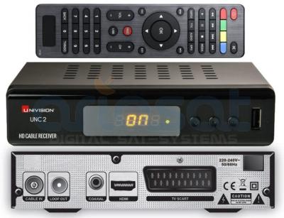 Kabel Receiver Univision UNC2 HD (DVB-C)