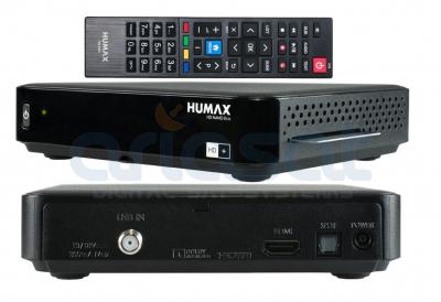 HUMAX HD Nano Eco 12 Monate!! HD+ Karte inklusive Sat-Receiver