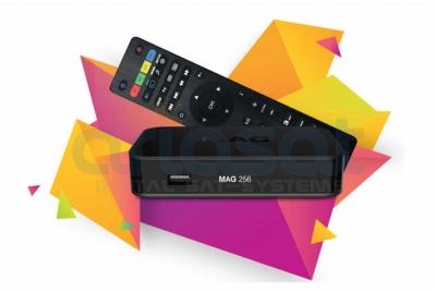 MAG 256w2 WLAN WiFi 600Mbs IPTV Streamer