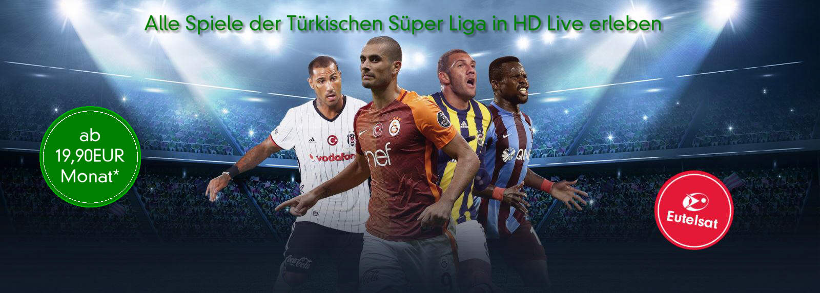 Digitürk beIN Sports HD Paket | Monatlich 19,90€* | SAT-EMPFANG