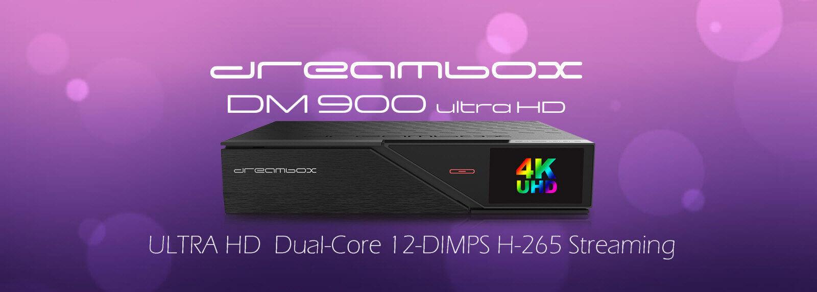 Dreambox DM900 ultraHD 4K