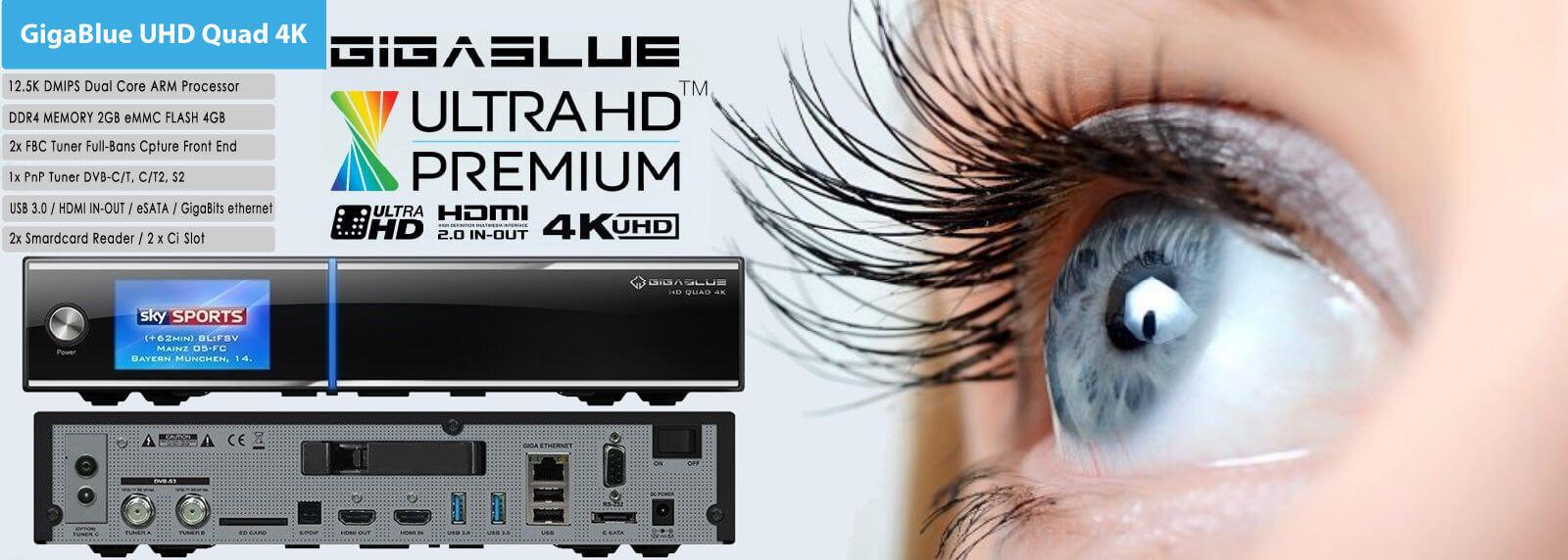 GigaBlue UHD Quad 4K