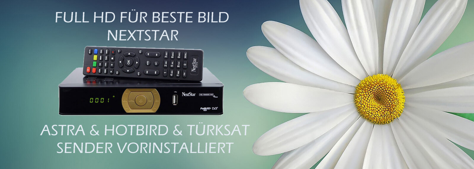 NEXT YE-18000 HDTV PLUS Sat-Receiver